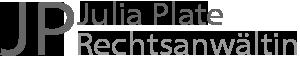 Julia Plate - Rechtsanwältin für  Familienrecht und Arbeitsrecht